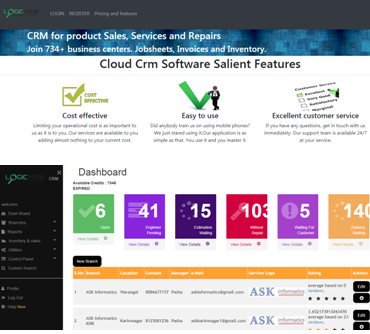 Service-business-software-dashboard